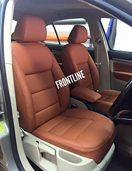 3D FRONTLINE PU Leather Car Seat Cover For Renault Duster