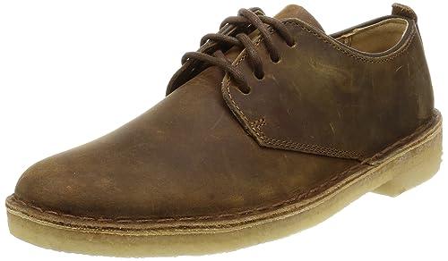 Clarks Desert London - Zapatos con cordones hombre, color marrón, talla 39.5