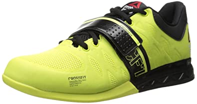 reebok crossfit shoes womens. reebok women\u0027s crossfit lifter 2.0 training shoe, high vis green/black, shoes womens 9