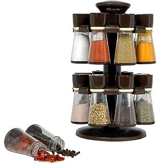 Image result for 16 Jar Revolving Spice Rack