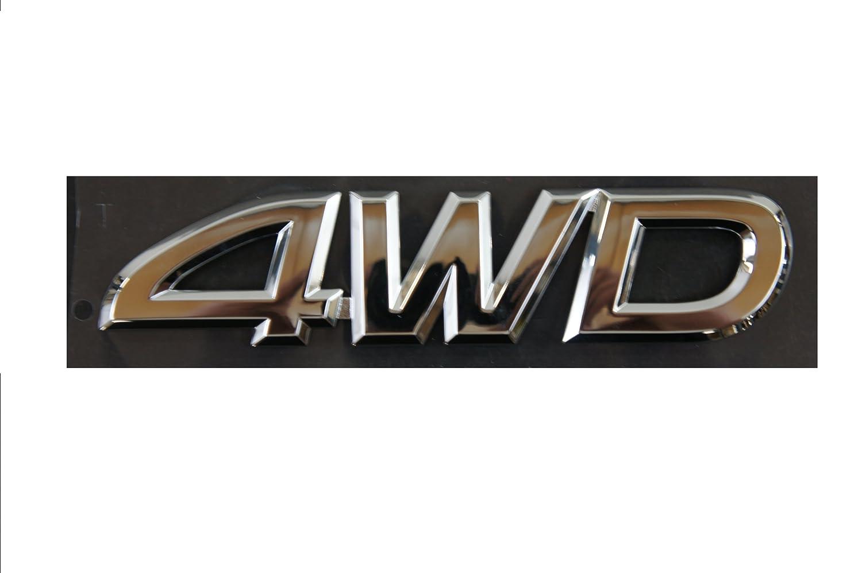 Toyota Genuine Accessories 4WD Emblem 75473-0C010