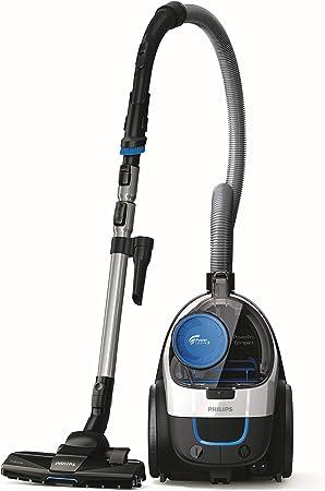 Philips PowerPro Compact FC9332/09 - Aspirador con Sistema Ciclonico sin Bolsa, Deposito 1.5 L, Filtro Antialergias, Facil de Limpiar: Amazon.es: Hogar