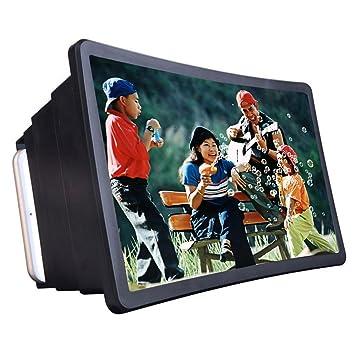 Docooler Teléfono Móvil Vídeo Pantalla Lupa Amplificador Expansor Soporte titular para Visualización de Película 3D