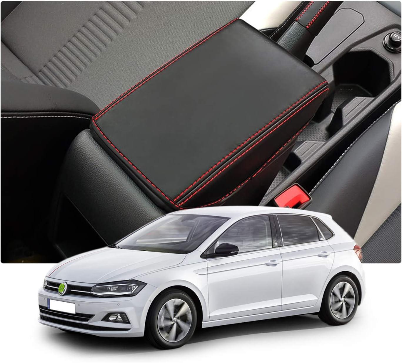 Ruiya Polo Mk6 Mittelkonsole Auflagebezug Kundenspezifische Armlehne Box Soft Pad Protector Auto