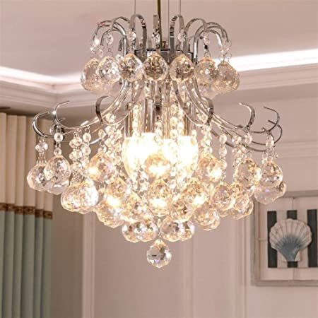 Modern White Crystal Chandelier Lights Lamp Chandeliers For Living room bedroom Fixture Crystal Light Lustres de crista lighting