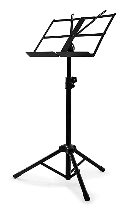 Nomad NBS 1321 Open Folding Desk Music Stand With Bag