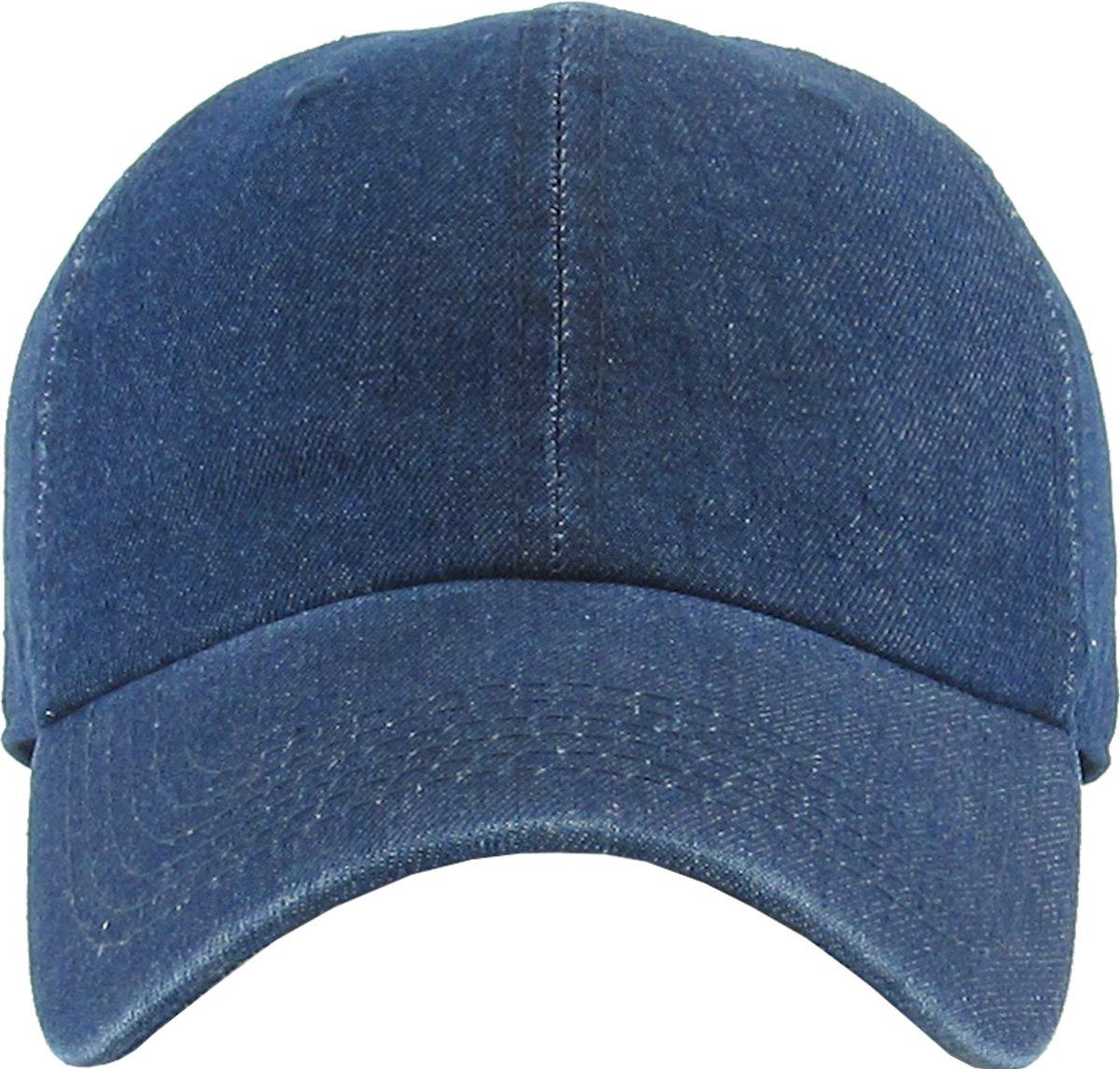 e172e641f76 KBETHOS Classic Polo Style Baseball Cap All Cotton Made Adjustable Fits Men  Women Low Profile Dad