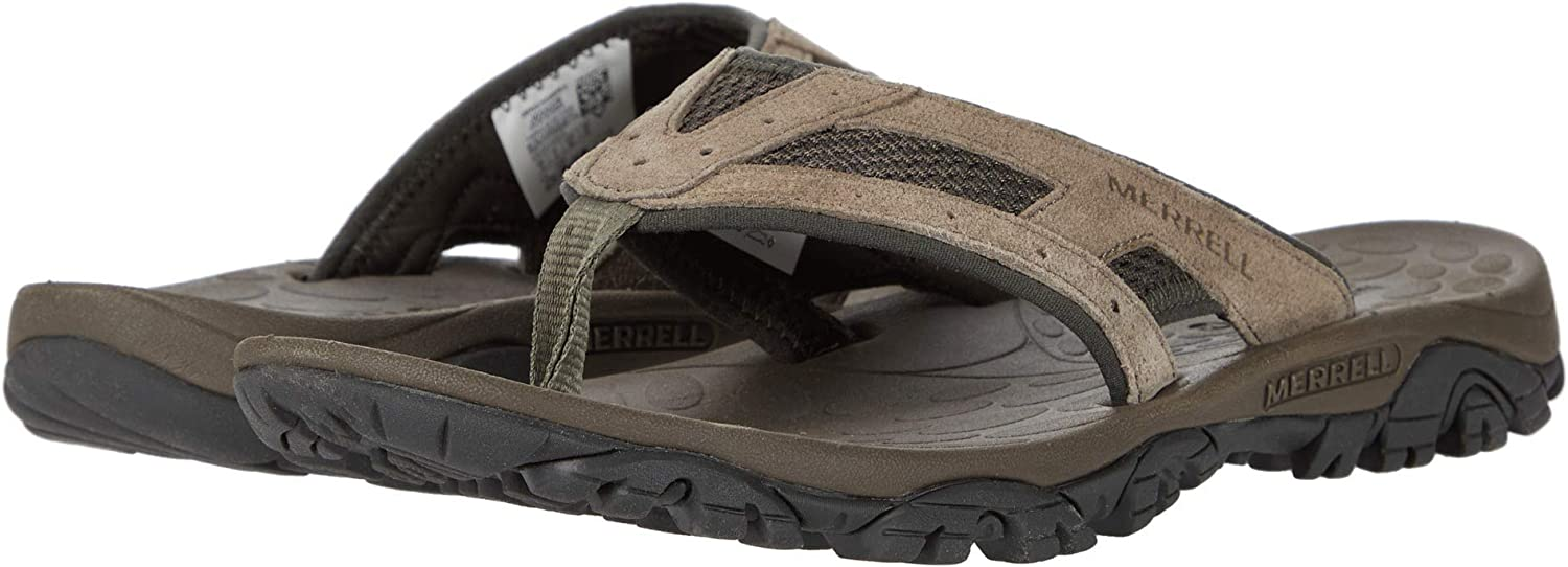 9 43.5 EU Merrell Men/'s Moab Drift 2 Flip Hiking Sandals Black Black