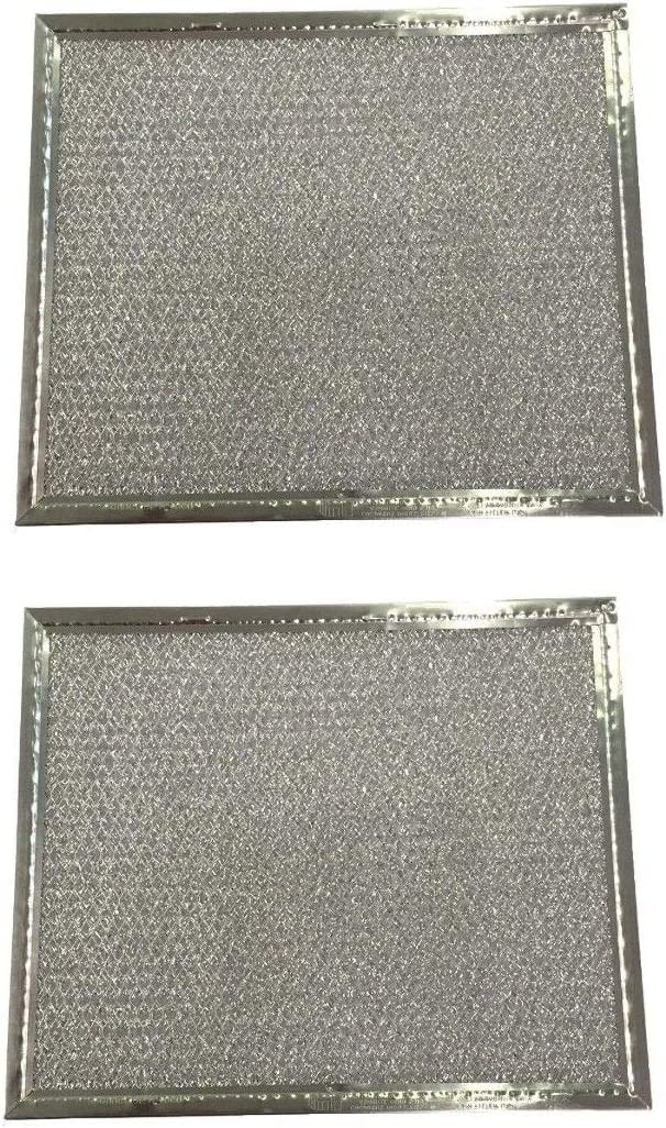 NEW Range Hood Vent Grease Filter 8 x 9.5 x 3//32 Aluminum 2