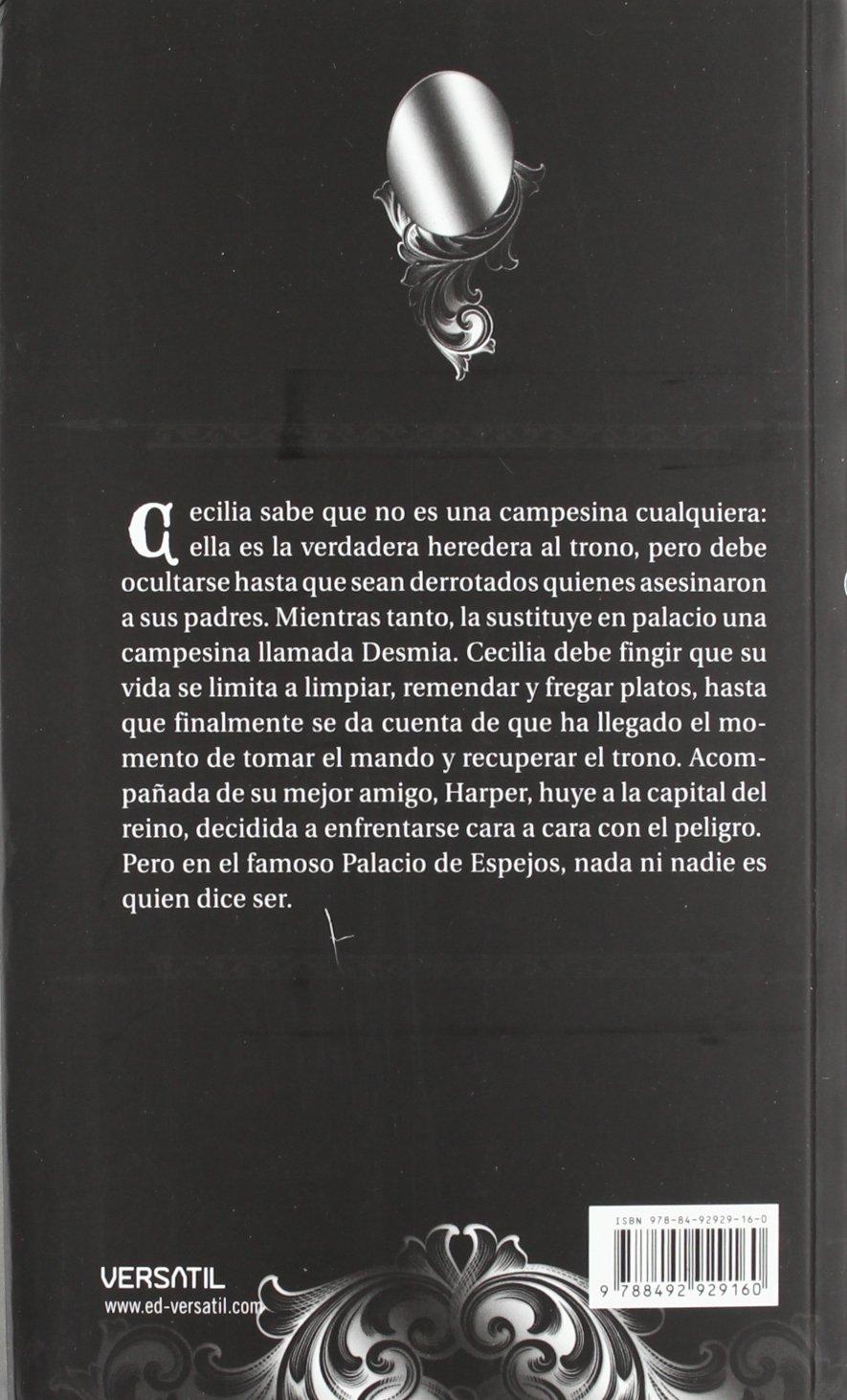 Palacio de Espejos ; Mi nombre es Ella: Margaret Peterson Haddix: 9788492929689: Amazon.com: Books