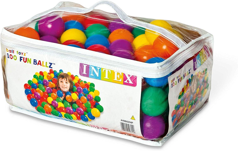 Amazon.com: Intex hinchable Jump-o-lene Bouncer + 100 ...