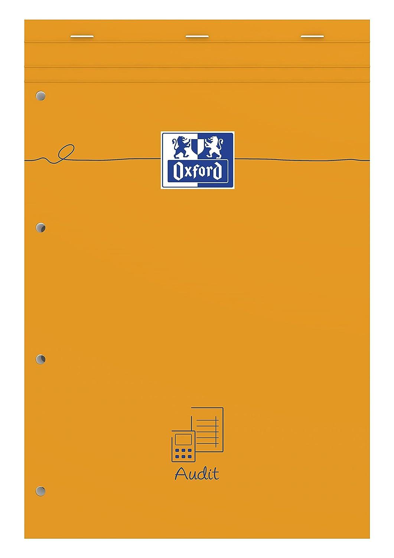 Oxford Orange Spécial audit Bloc-notes A4+ 160 pages Orange