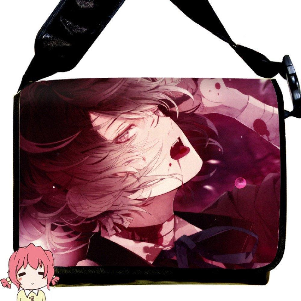 Siawasey Diabolik Lovers Anime Sakamaki Kanato Cartoon Cosplay Messenger Bag Shoulder Bag by Siawasey (Image #1)