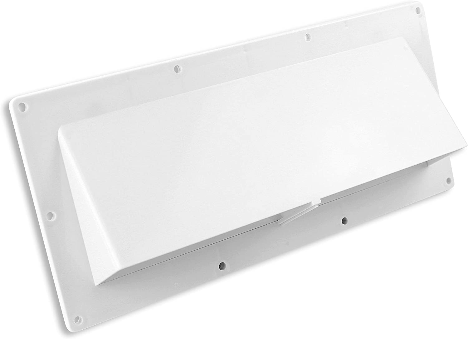 Leisure Coachworks RV Exhaust Vent Cover - RV Range Hood Vent/RV Range Hood Cover (1-Pack White)