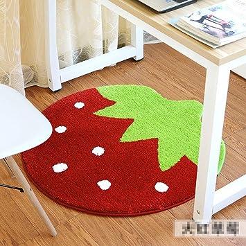 Ww Erdbeere Teppich Schlafzimmer Kissen Wohnzimmer Teppich