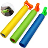 Betheaces. Water Guns Toys for Kids, 3Pack Foam Water Blaster Shooter Summer Fun Outdoor Swimming Pool Games Toys for Boys Girls Adults
