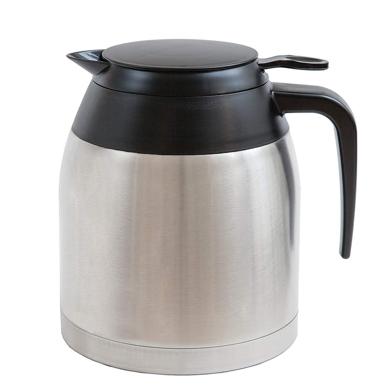 Bonavita Stainless Steel Carafe with Lid- Replacement Thermal Carafe BV03001US - 1.3 Liter, 8 Cup
