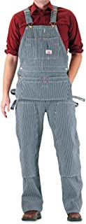 product image for Round House Men's Carpenter Bib Overall with Zipper Fly