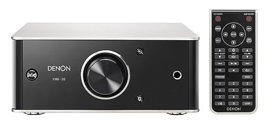 Denon PMA30SPE2 PMA-30 Design Series Amplificador Integrado (Bluetooth, Entrada Digital/analógica, 2 x 40W) Negro/Aluminio: Amazon.es: Electrónica