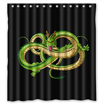Shower Curtain Custom Wasserdicht Badezimmer Duschvorhang Dragon Ball Z Anime Design 66quot X 72quot
