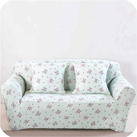 U-see - Funda elástica para sofá de jardín, diseño de Flores, Color Rosa: Amazon.es: Hogar