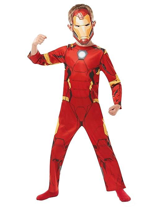 Rubies 640829L - Disfraz infantil oficial de Marvel Avengers Iron ...
