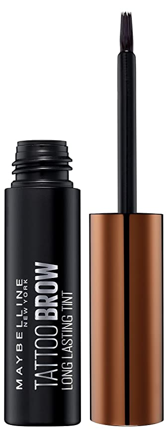 Maybelline Brow Tattoo Gel Tinte para Cejas Castañas, Tono Medium 2-4.6g: Amazon.es: Amazon Pantry