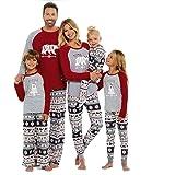 SESY Family Pajamas Mama/Little/Papa Bear Top & Fair Isle Bottoms