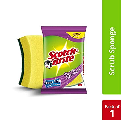 Scotch-Brite� Scrub Sponge Large  (1Pc)
