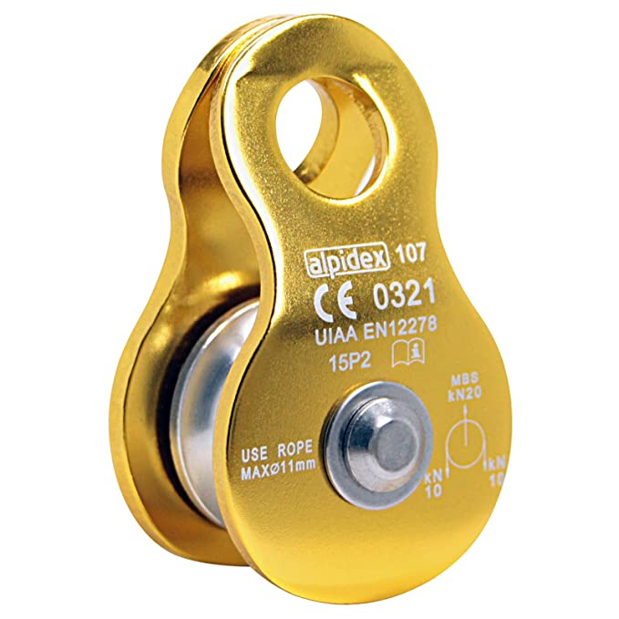 6 opinioni per ALPIDEX Carrucola Mobile Pulley Helios, Colore:yellow