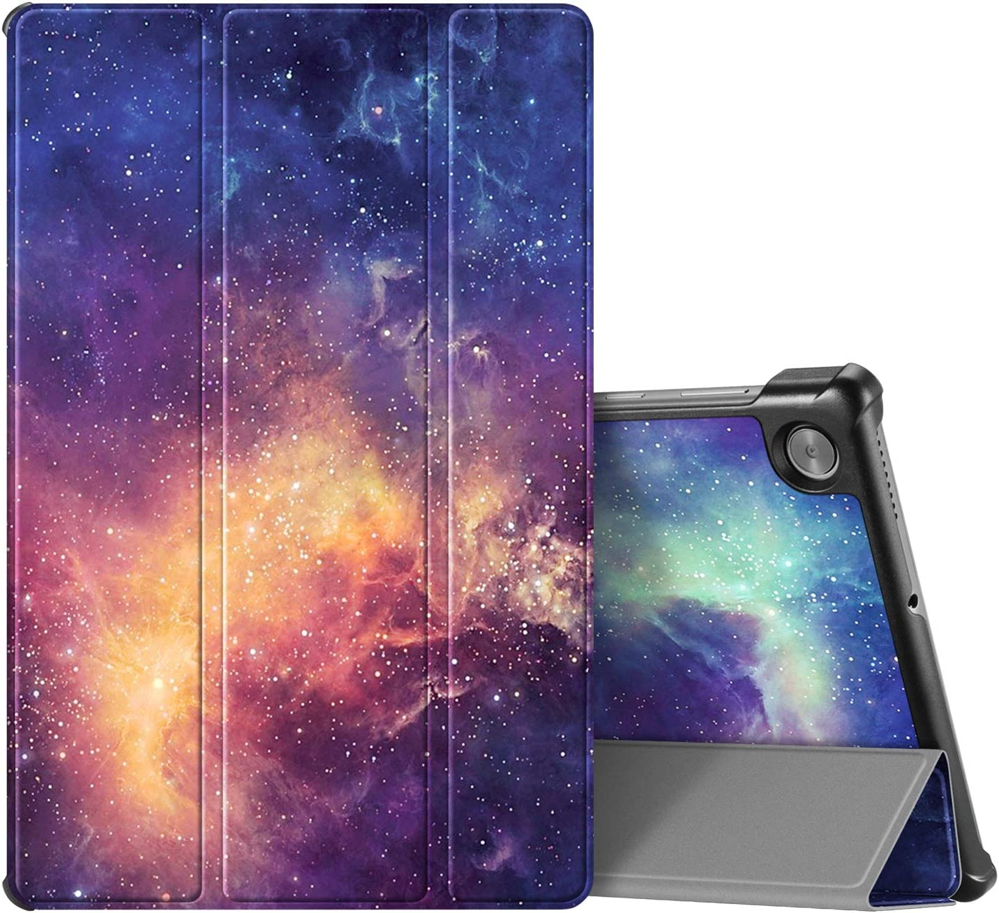 CaseBot Case for Lenovo Tab M10 Plus, Lightweight Slim Shell Stand Cover with Auto Sleep/Wake for Lenovo Tab M10 Plus TB-X606F / TB-X606X 10.3