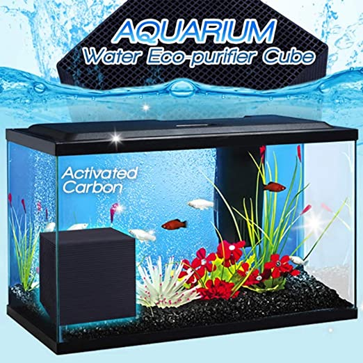Agua del acuario Eco-purificador Cubo Filtrar la suciedad y los ...