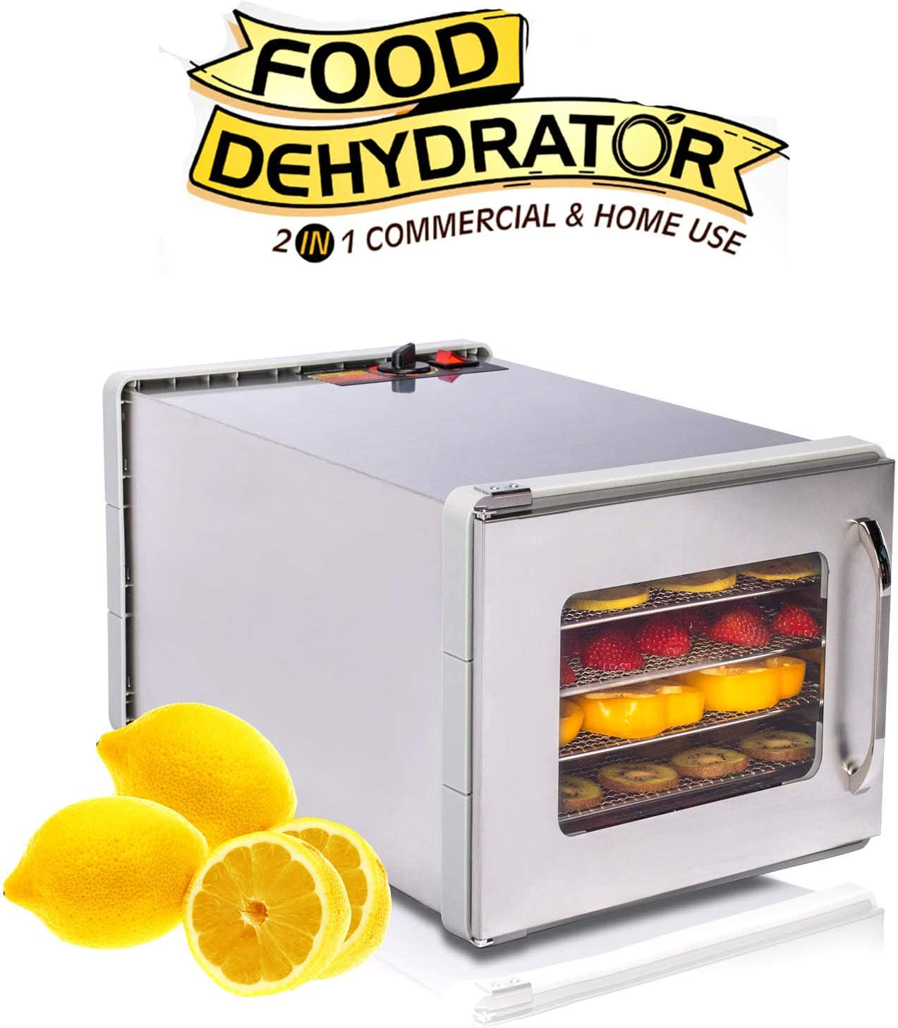 AYETEC-Commercial-Stainless-Steel-Dehydrator