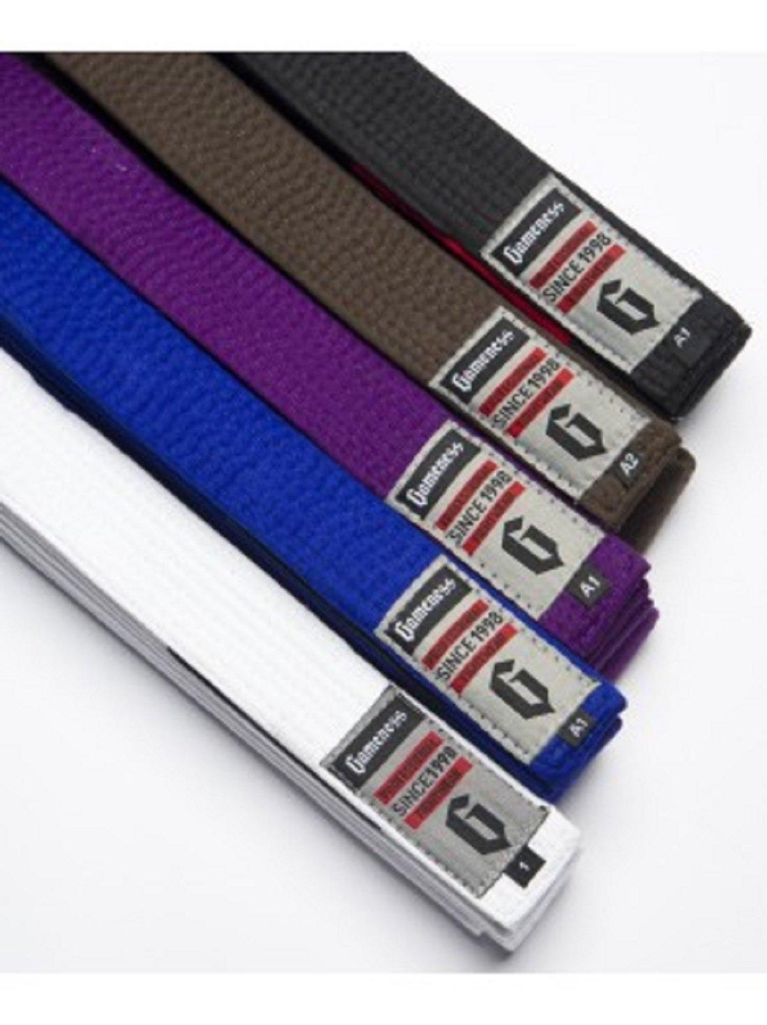 Gameness Brazilian Jiu Jitsu Belts - White - A5