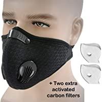 Tdas Men's Mesh Cotton Nylon Anti Pollution Washable Face Mask