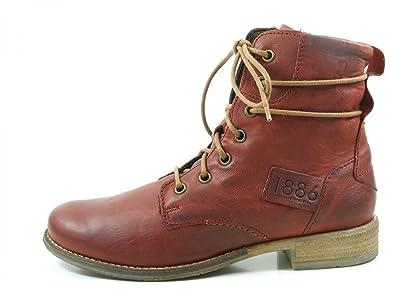 JOSEF SEIBEL - Damen Stiefelette - Sienna 63 - Rot Schuhe in Übergrößen