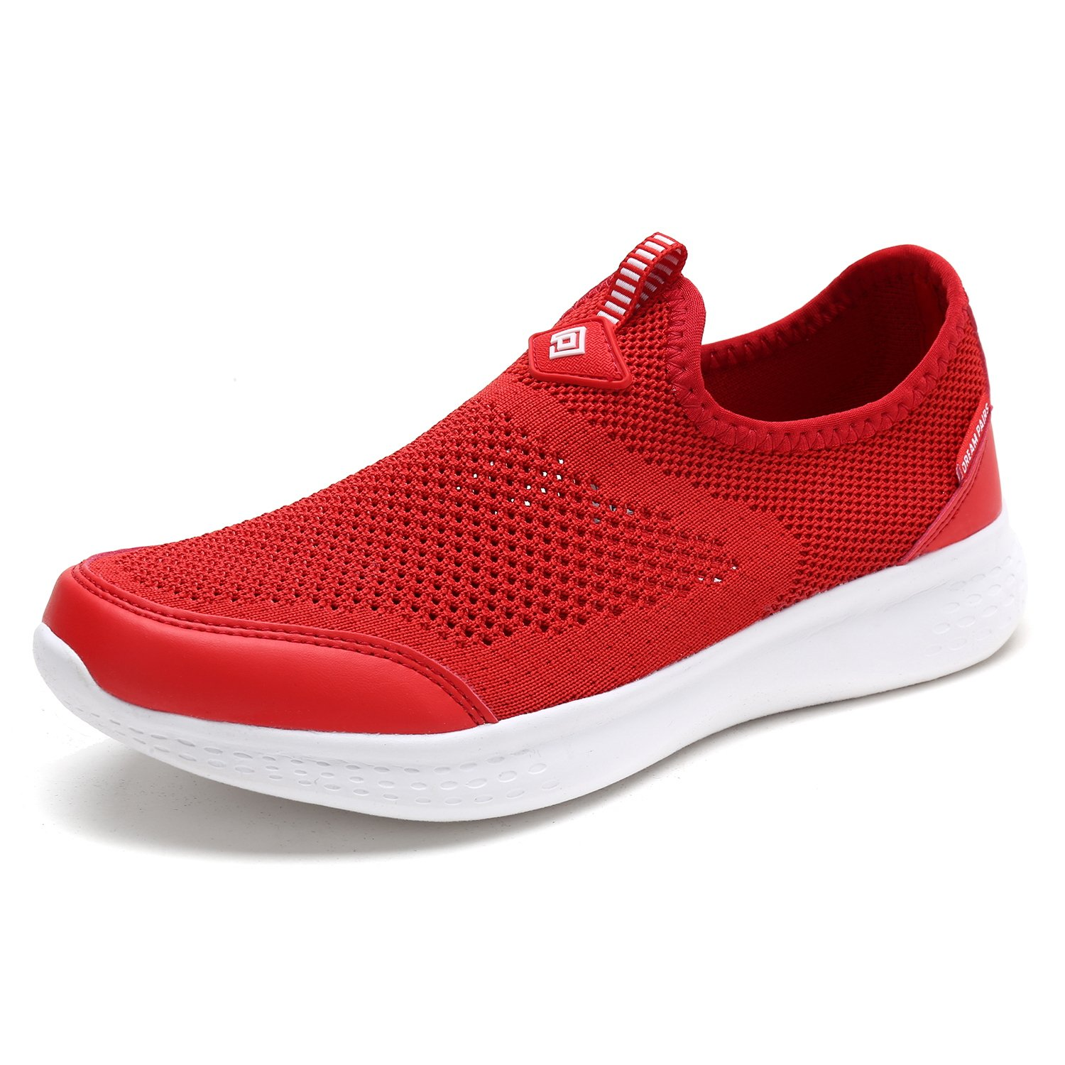 DREAM PAIRS Women's C0189_W Red Fashion Running Shoes Sneakers Size 8 M US