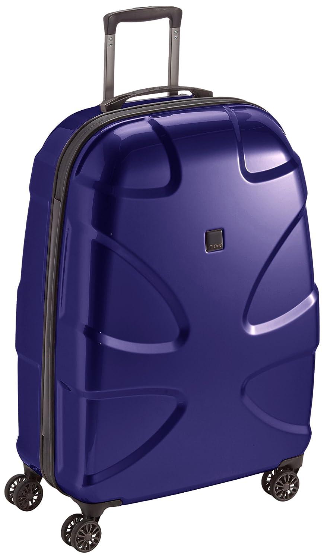 "TITAN Valise trolley ""X2"" avec 4 roues bleu foncé Koffer, 77 cm, 109 liters, Blau (Bleu Foncé)"