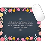 Black mouth Picture Anti-Slip Personalized Custom Gaming Mouse Pad Rubber Durable Computer Desk Stationery Accessories Mouse Pads For Gift