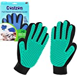 Pet Hair Remover Glove for Cat Dog, Pet Grooming Glove for Dog Cat Brush Gentle Shedding and Grooming Pet Supplies…