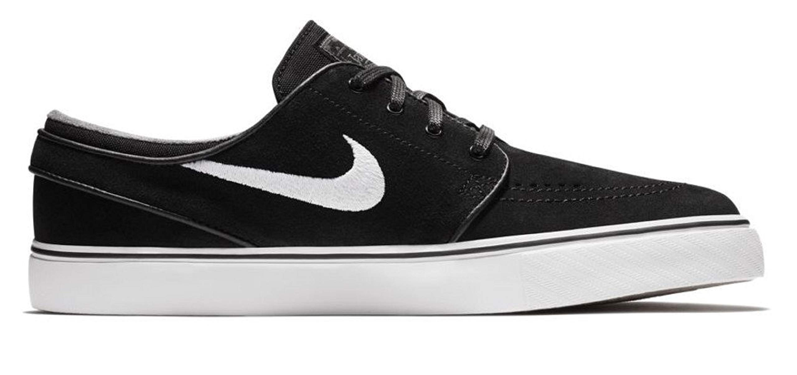new style dc078 3eb2f Galleon - Nike Zoom Stefan Janoski Mens Fashion-Sneakers 333824-067 10.5 -  Black White-Thunder Grey-Gum Light Brown