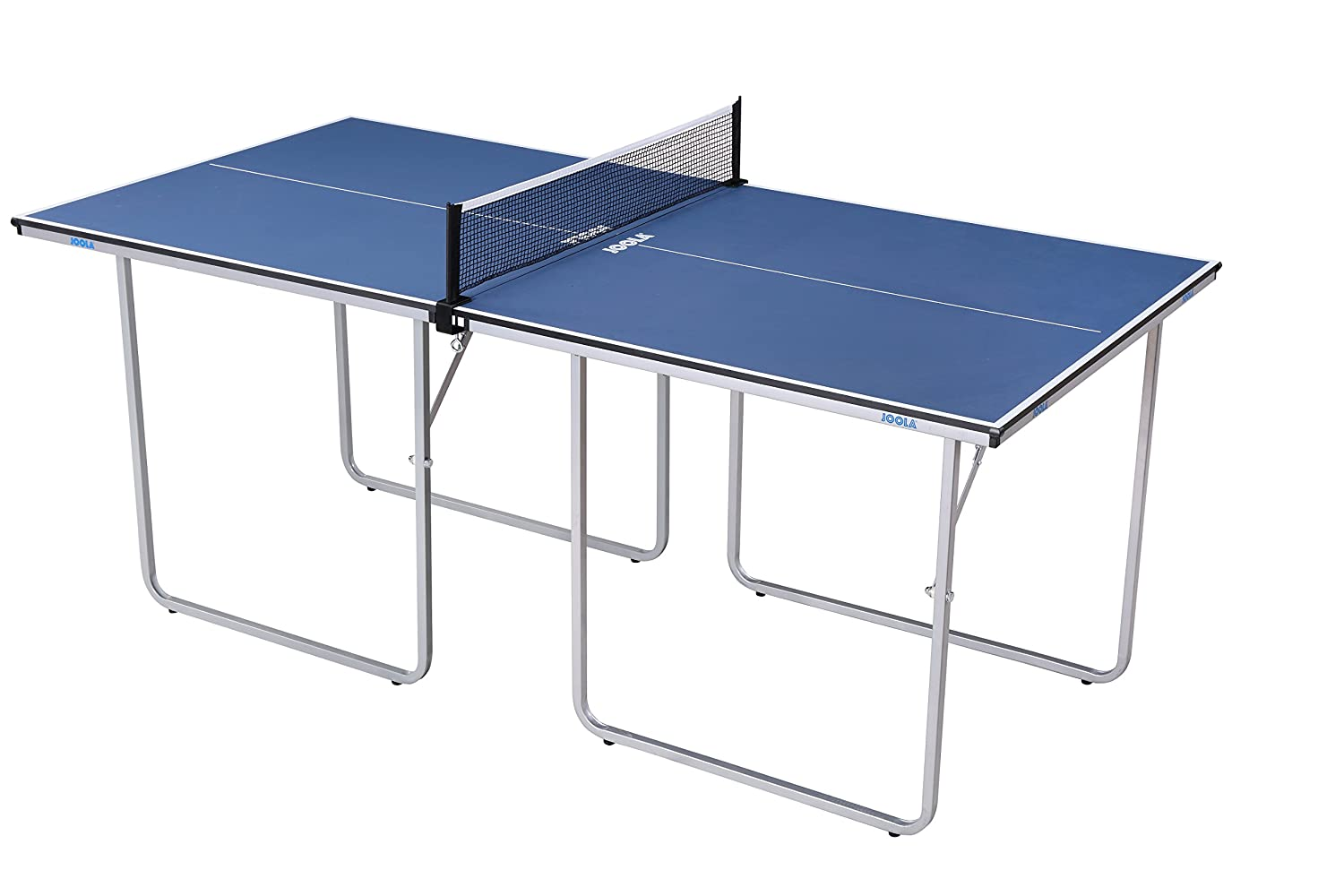 JOOLA Midsize Compact Table Tennis Table Great for Small Spaces and Apartments