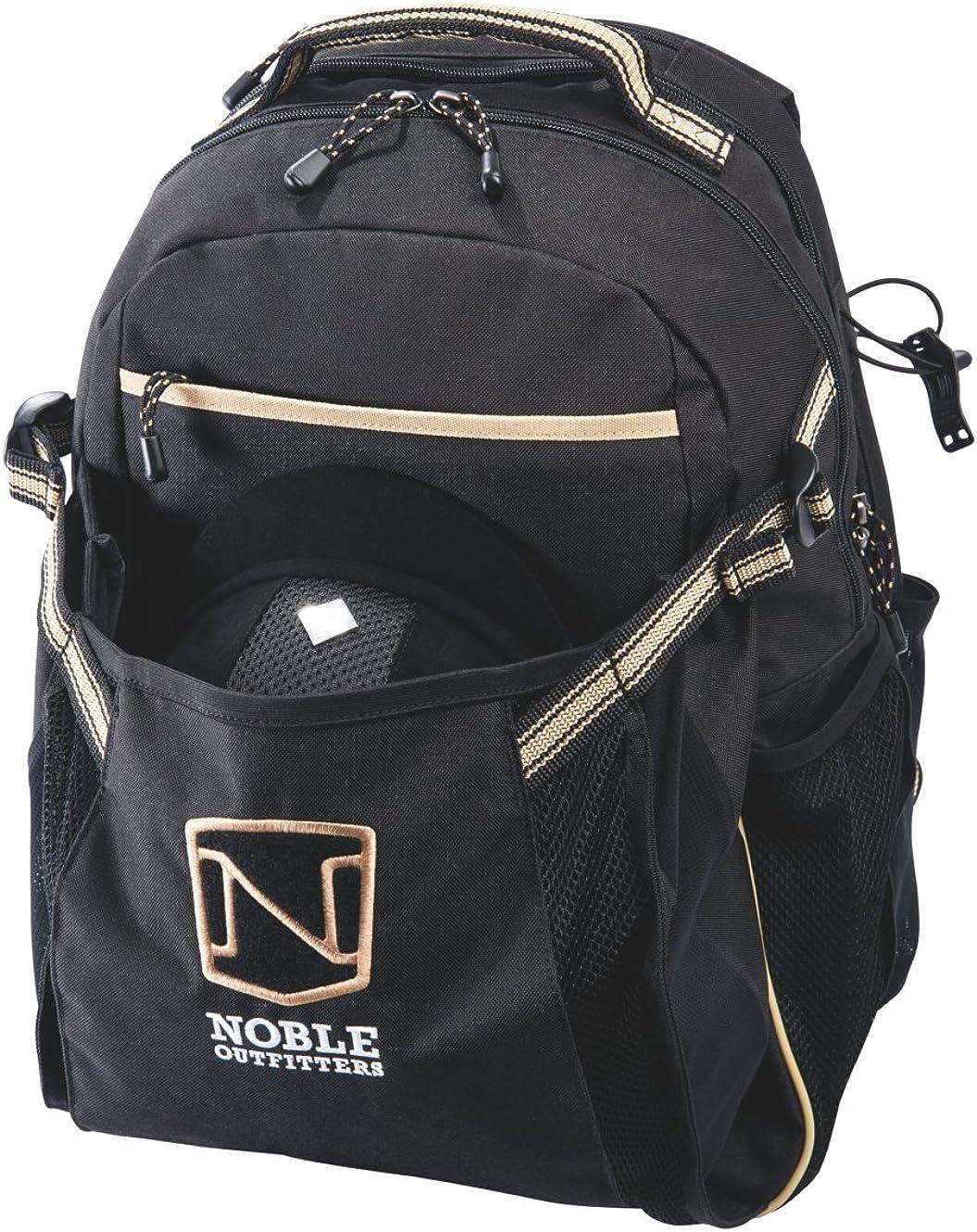Noble Equestrian Ringside Pack Black Equine Horse Bag