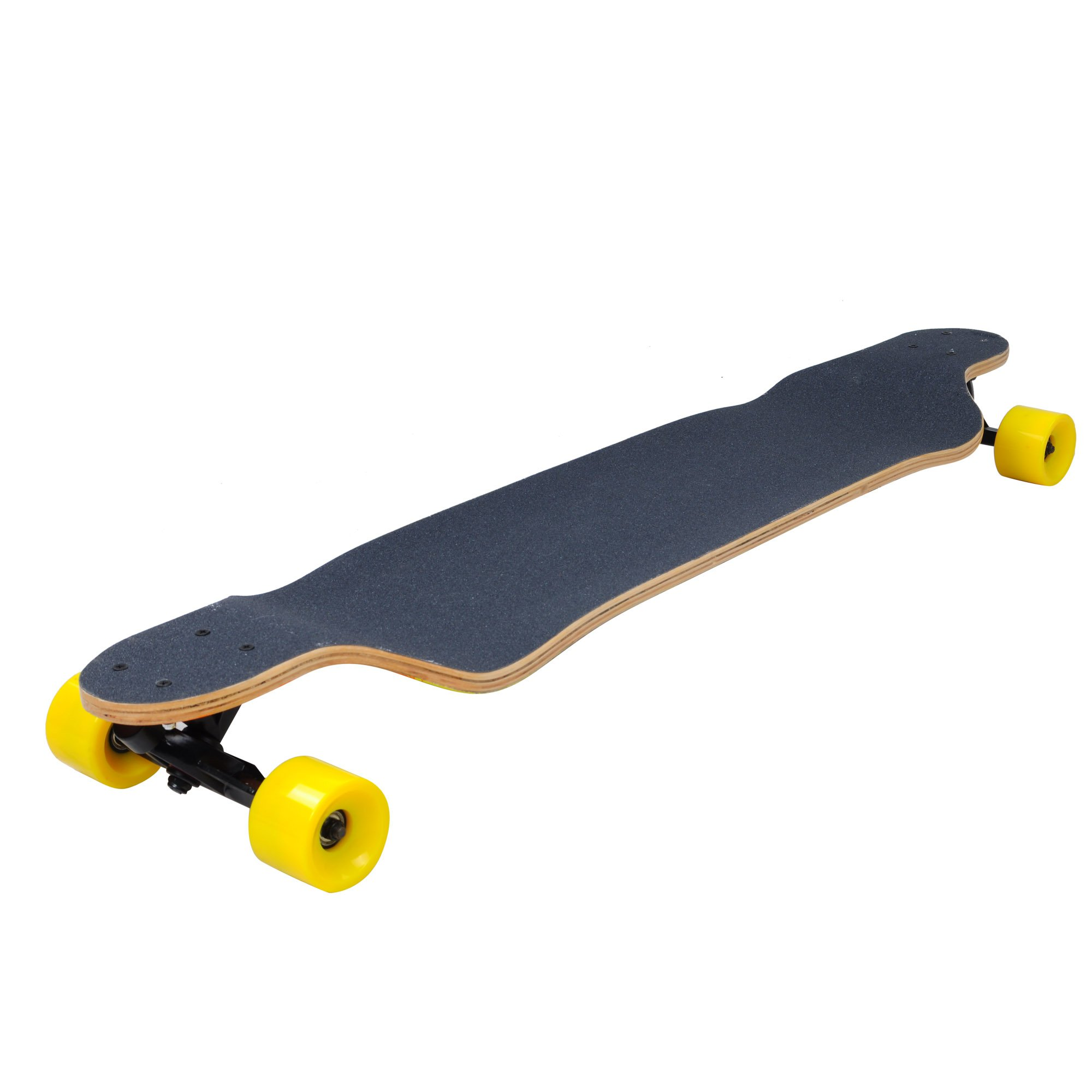 AW 41'' Canadian Maple Professional Longboard Complete Cruiser Speed Skateboard Downhill Maple Deck