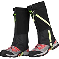 TAGVO Snow Gaiter, Waterproof Windproof Warm Shoes Cover, Durable Easy Cleaning Hiking Gator, Front Closure Open Easy On Off, Fit Adults Kids Men Women Hunting Climbing Skiing Biking Trimming Grass