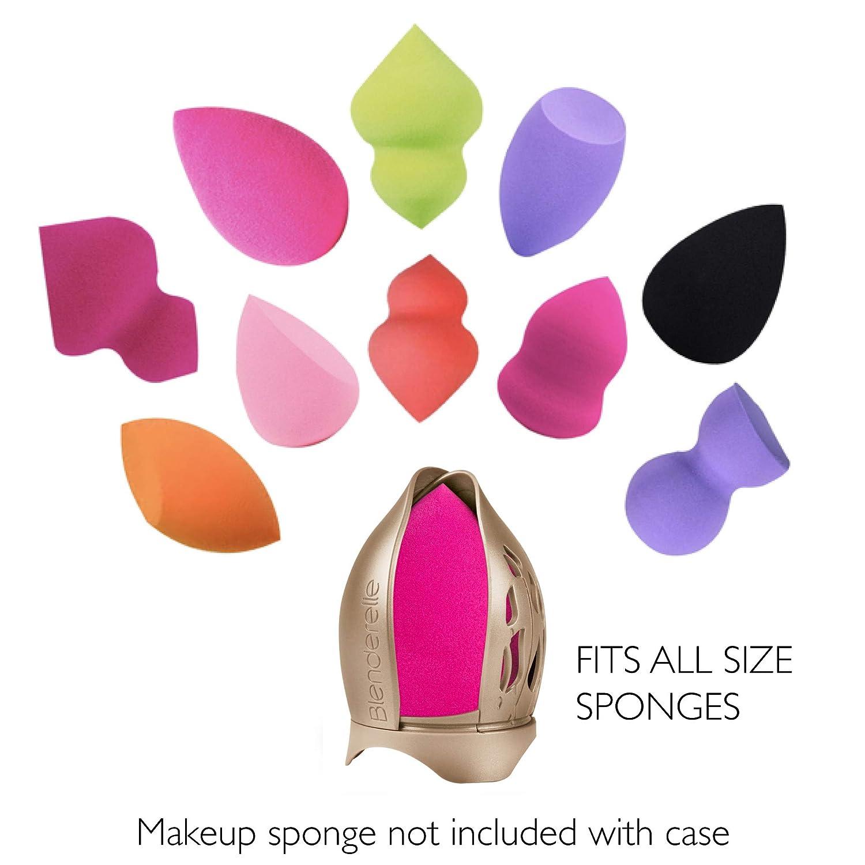 3ca3f3a3f Blenderelle - Estuche de almacenamiento de esponja para maquillaje y  estuche de viaje: Amazon.es: Belleza