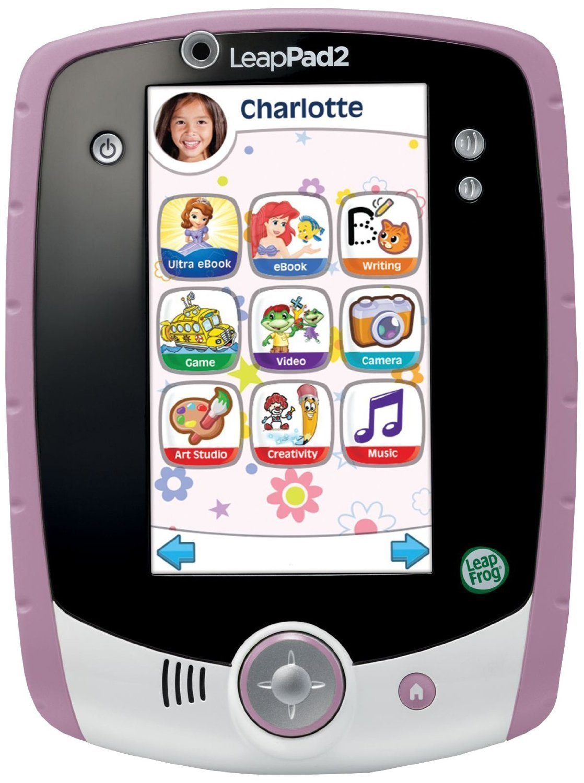LeapFrog LeapPad2 Kids' Learning Tablet (Custom Edition), Pink by LeapFrog (Image #2)
