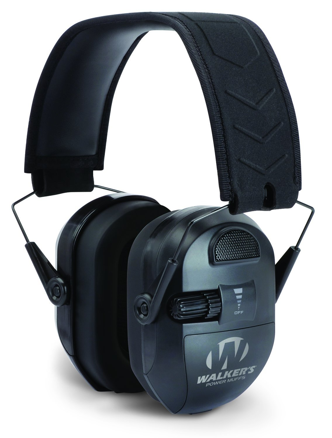 Walker's Ultimate Power Muff, Black by Walker's Game Ear