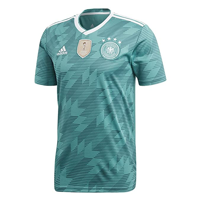 bc87267afbb adidas Mens 2018 Germany Away Jersey at Amazon Men s Clothing store