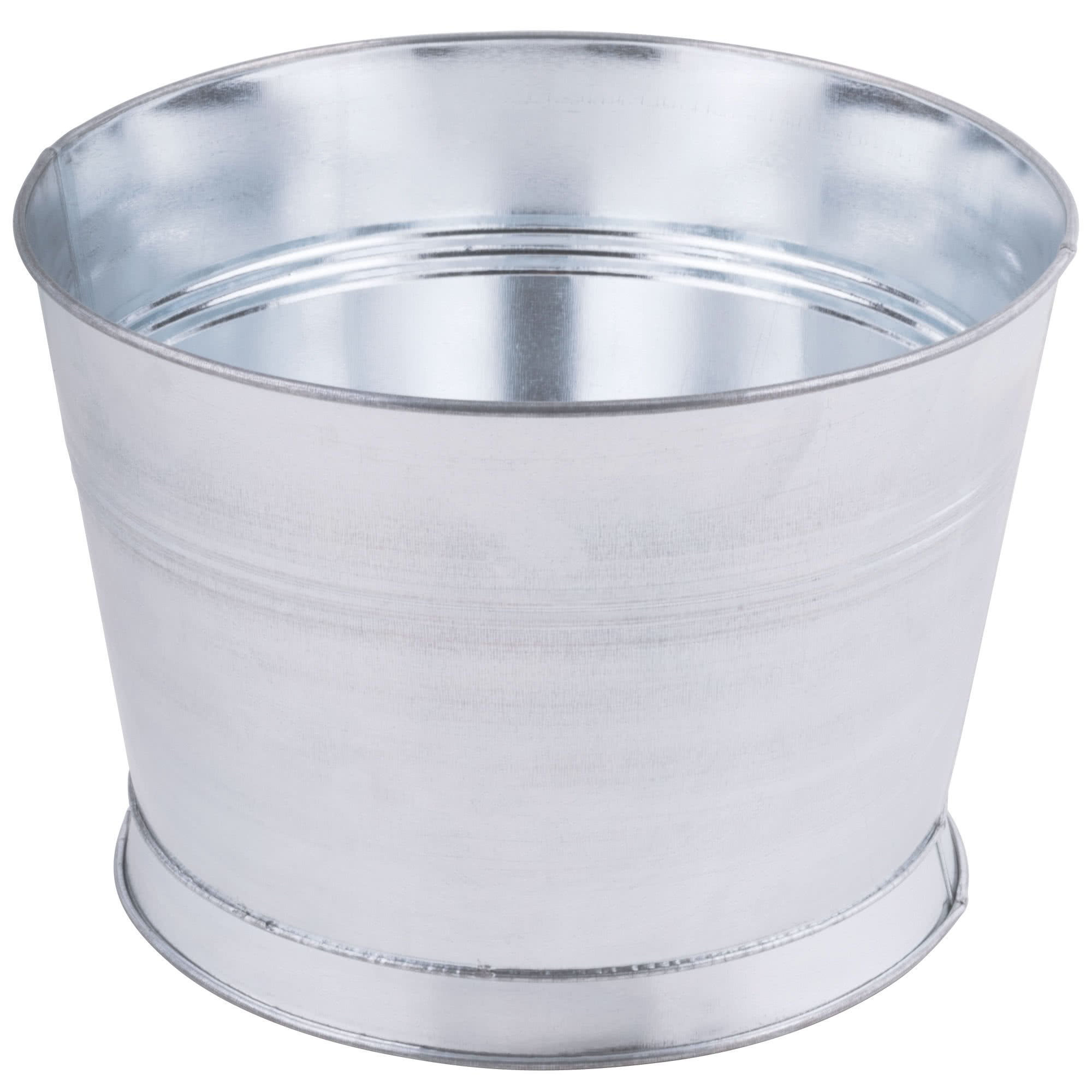 TableTop King 10 5/16'' Round Metal Bucket
